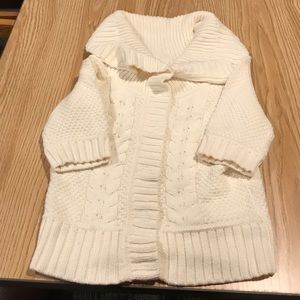 Express Crowl Cable Knit Sweater